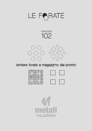 Catalogo lamiere forate Metall