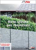 catalogo reti stirate per recinzioni